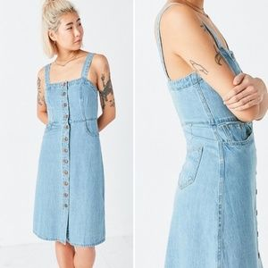 Urban Outfitters BDG Dress jean Denim button front
